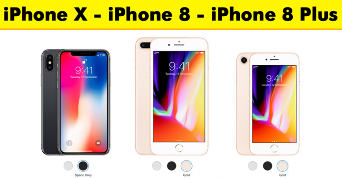 Apple Surprises With The iPhone X And The New iPhone 8 & iPhone 8 Plus